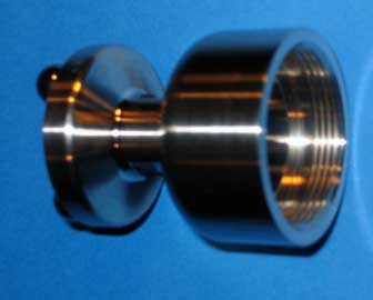 3 Ball Kinematatic Mount, Side View