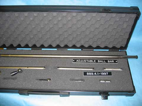 Adjustable Ball Bar Kit in Plastic Case