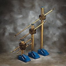 BALL BAR STAND, HEAVY WEIGHT, 914.4 MM, 36 INCHES, INCLUDES A SINGLE CLAMP, A COLLAR AND A TIE DOWN