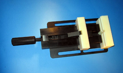 CMM Vise with Nylon Jaws