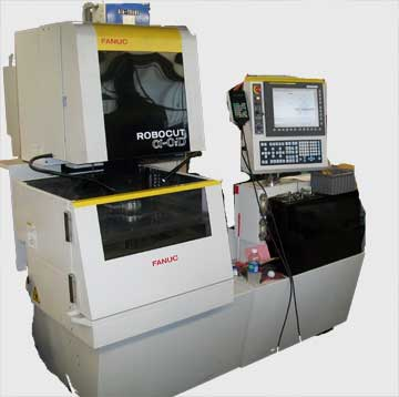 Our New Fanuc Wire E.D.M. machine